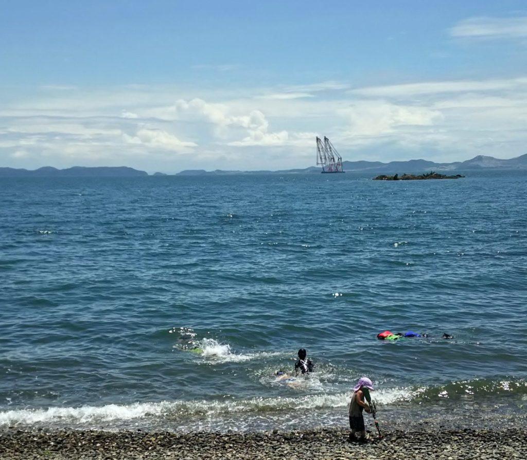 赤穂市【丸山県民サンビーチキャンプ場】予約不要で穏やかな海を満喫!
