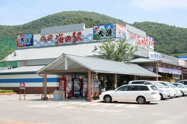 備前 海の駅「山陽マルナカ」は魚市場やレストランがあって買い物にも便利♪